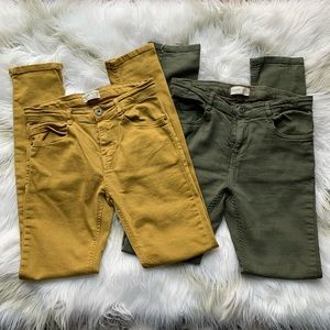 ZARA Boys Skinny Jeans bundle 11/12